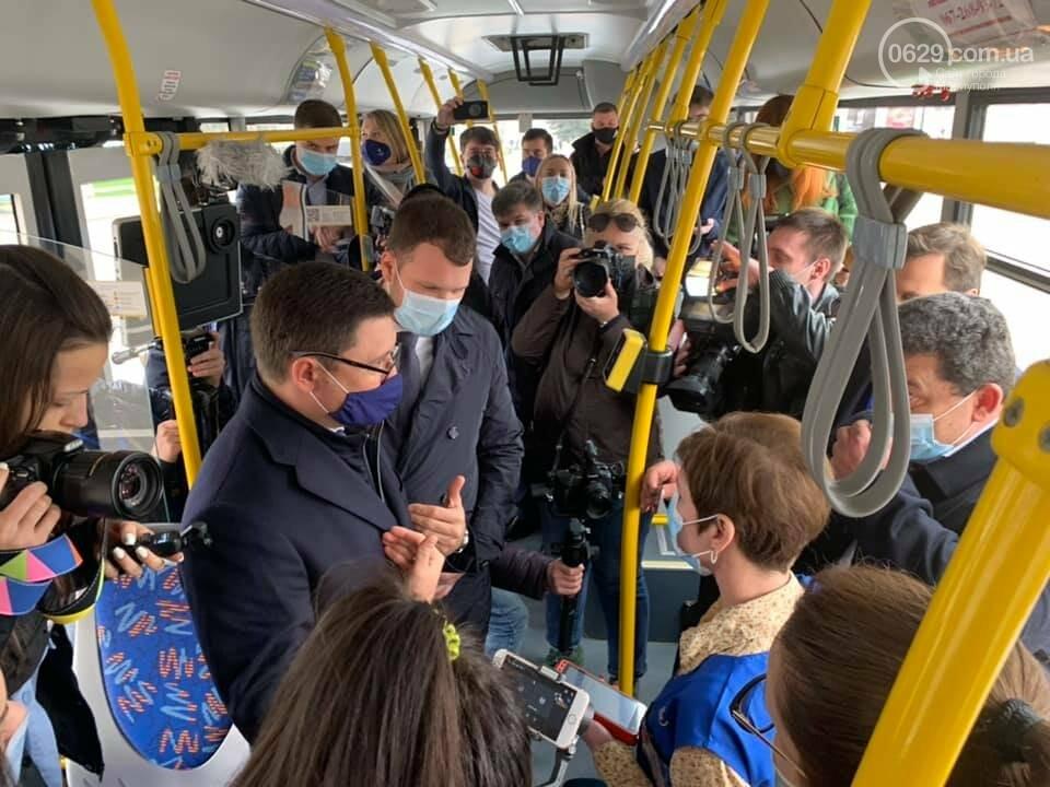 В Мариуполе министр-инфраструктуры и мэр испытали валидатор, - ФОТО, фото-3