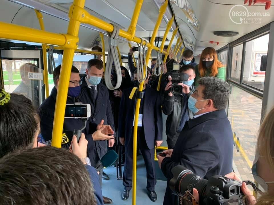 В Мариуполе министр-инфраструктуры и мэр испытали валидатор, - ФОТО, фото-1