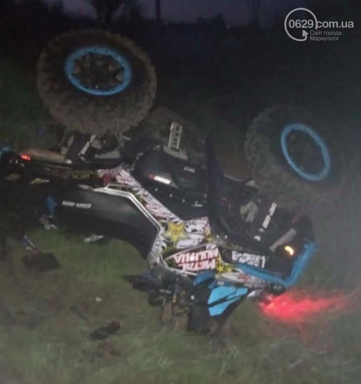 В Мариуполе насмерть разбился водитель квадроцикла, - ФОТО, фото-1