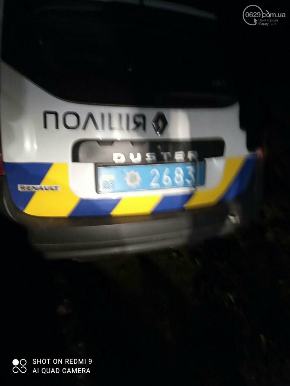 Под Мариуполем авто полицейских травмировало женщину, - ФОТО , фото-1