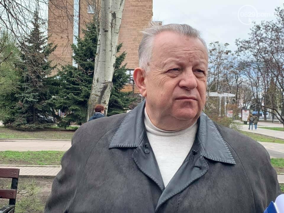 Ни сквера, ни улицы, ни мемориала. В Мариуполе чернобыльцы устроили разнос городским властям, фото-1