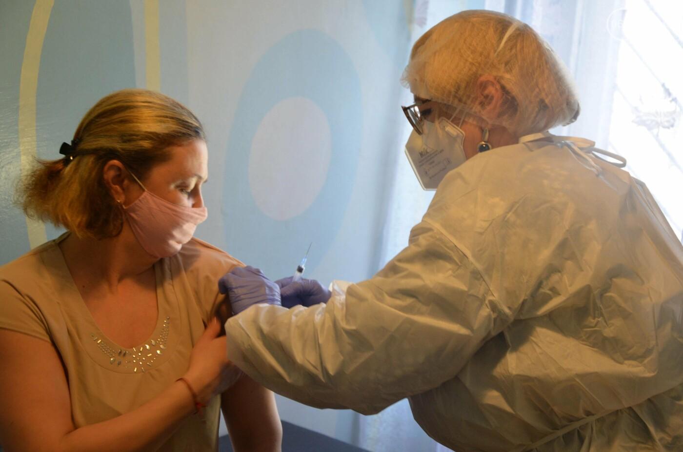 В Мариуполе сотрудники детского сада привились от коронавируса, - ФОТО, фото-4