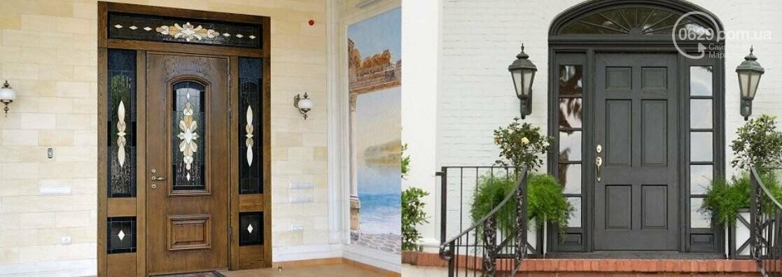 Обивка МДФ металлической входной двери, фото-1