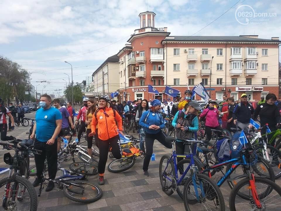 В Мариуполе прошел первый велопробег за время карантина, - ФОТО, фото-3