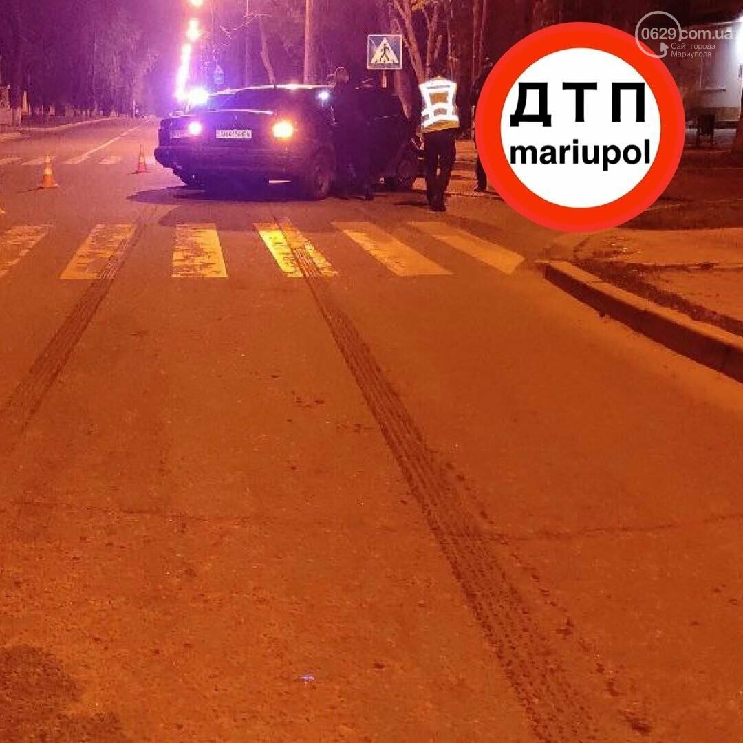 """В Мариуполе """"Дэу"""" столкнулся с """"Опелем"""". Пострадал пьяный мужчина, - ФОТО, фото-2"""