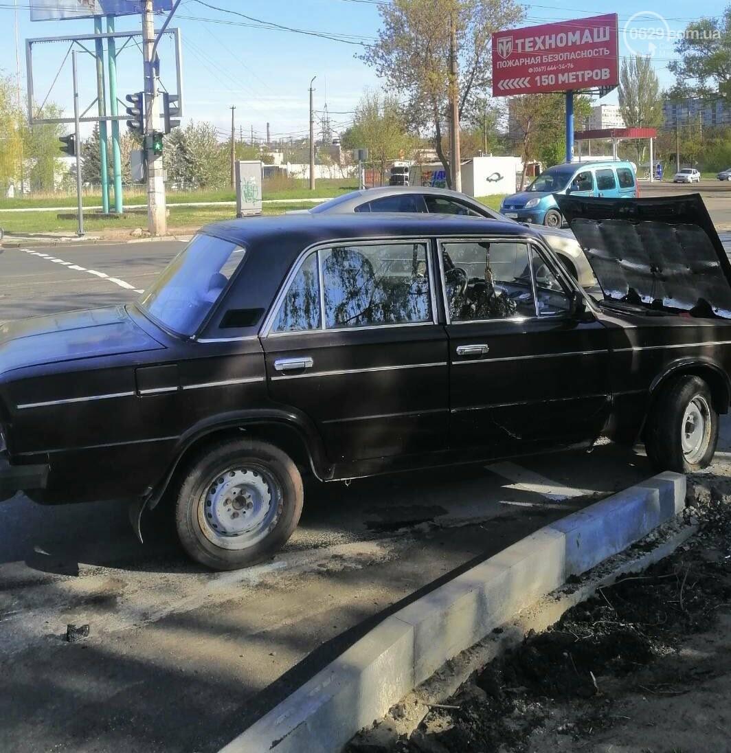 """В Мариуполе Hyundai поехал на """"красный"""" и врезался в ВАЗ, - ФОТО, фото-6"""