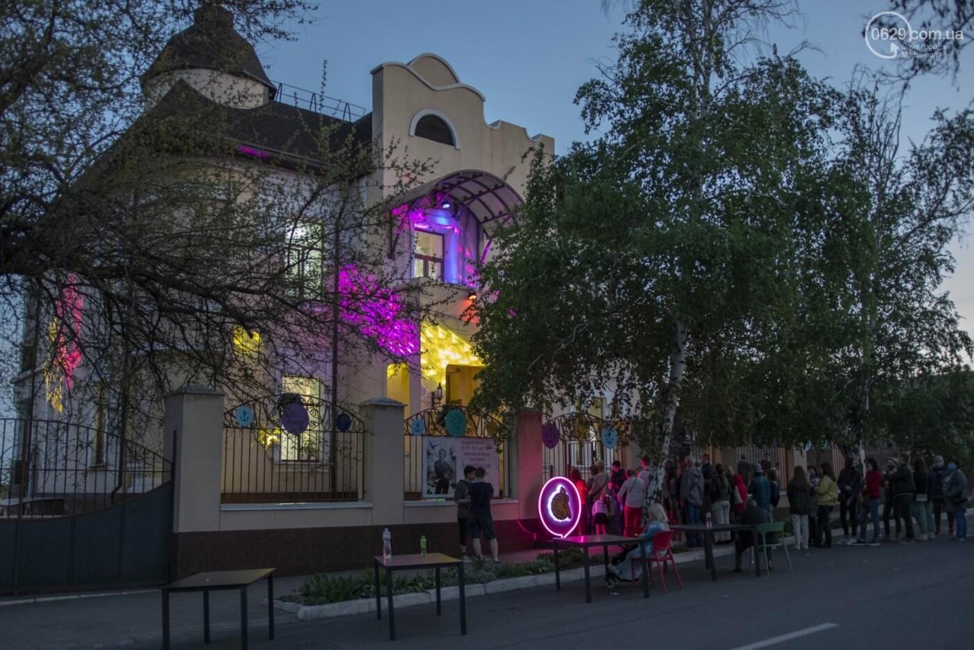 Эффект «вау». 25 ночных фотографий с музейной ночи в Мариуполе, - ФОТОРЕПОРТАЖ, фото-24