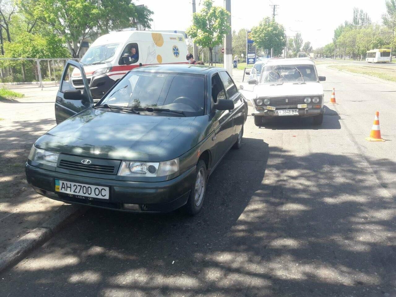"""В 11 раз больше! В Мариуполе пьяный водитель """"Жигули"""" протаранил 3 автомобиля, - ФОТО, фото-1"""