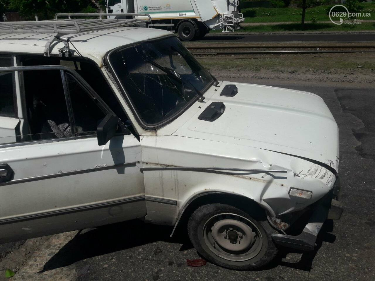 """В 11 раз больше! В Мариуполе пьяный водитель """"Жигули"""" протаранил 3 автомобиля, - ФОТО, фото-5"""