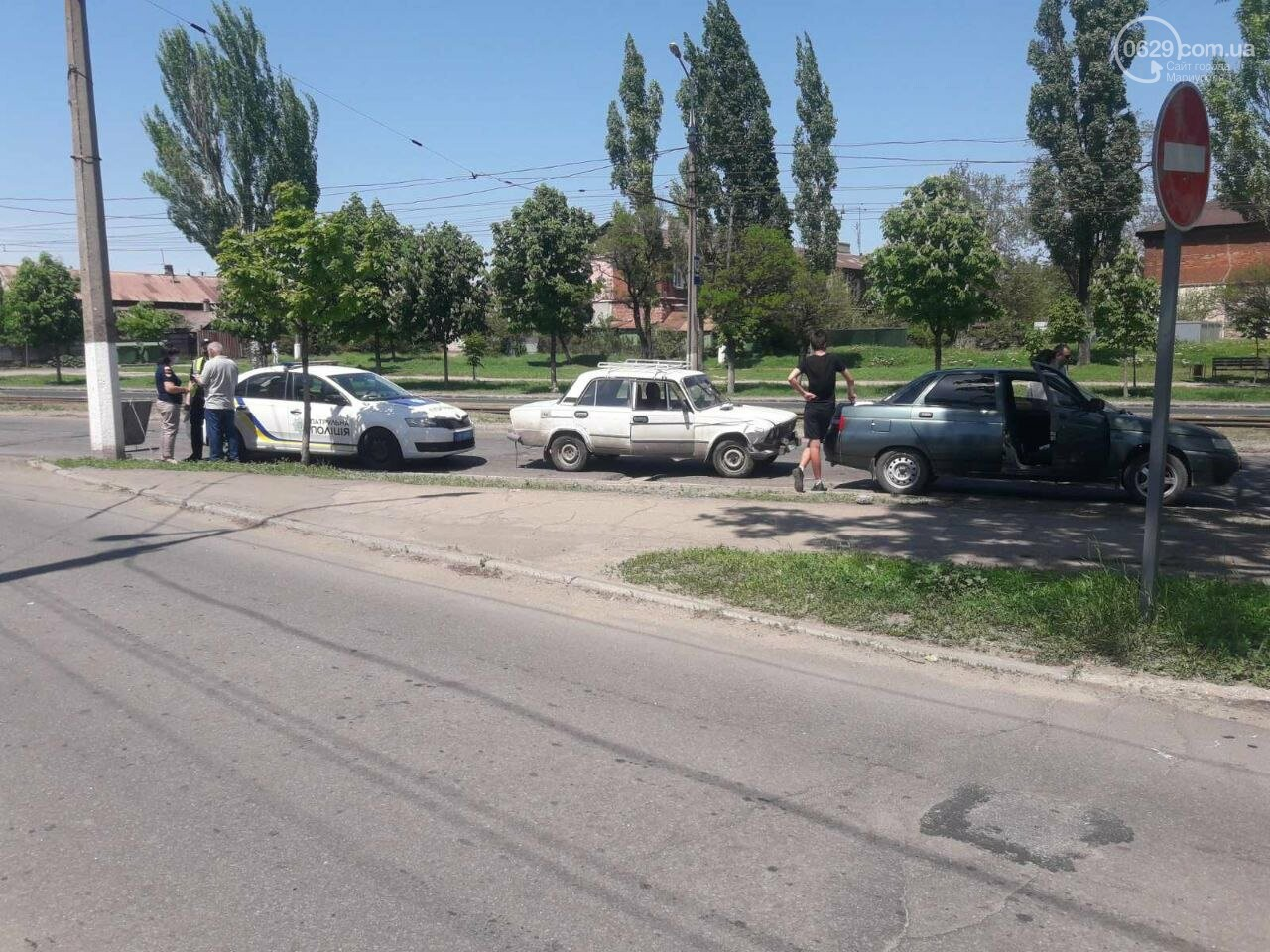 """В 11 раз больше! В Мариуполе пьяный водитель """"Жигули"""" протаранил 3 автомобиля, - ФОТО, фото-6"""
