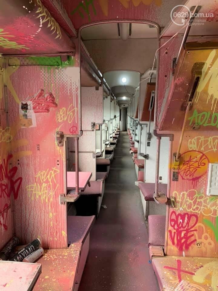 В Мариуполе художники со всей Украины захватили поезд, - ФОТО, ВИДЕО, фото-3