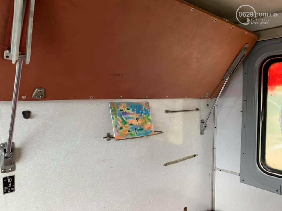 В Мариуполе художники со всей Украины захватили поезд, - ФОТО, ВИДЕО, фото-8