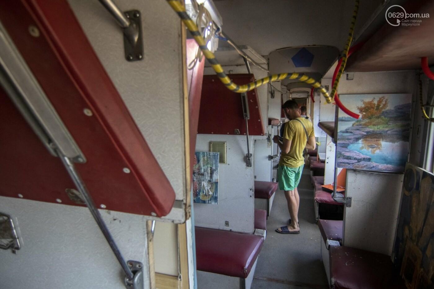Во что превратили художники старый железнодорожный состав в Мариуполе. 33 фотографии! , фото-14
