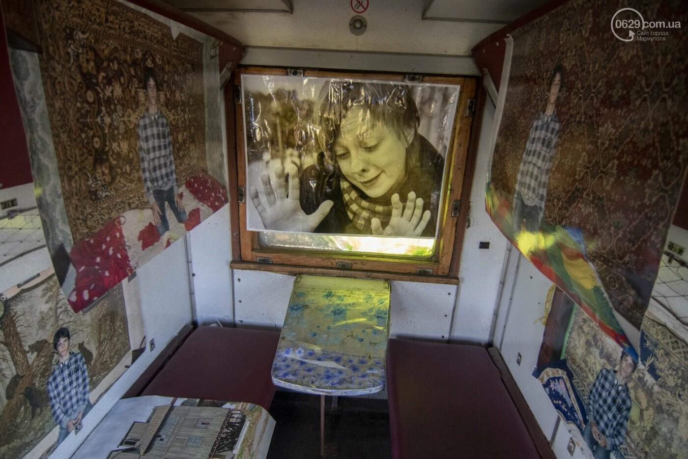 Во что превратили художники старый железнодорожный состав в Мариуполе. 33 фотографии! , фото-10