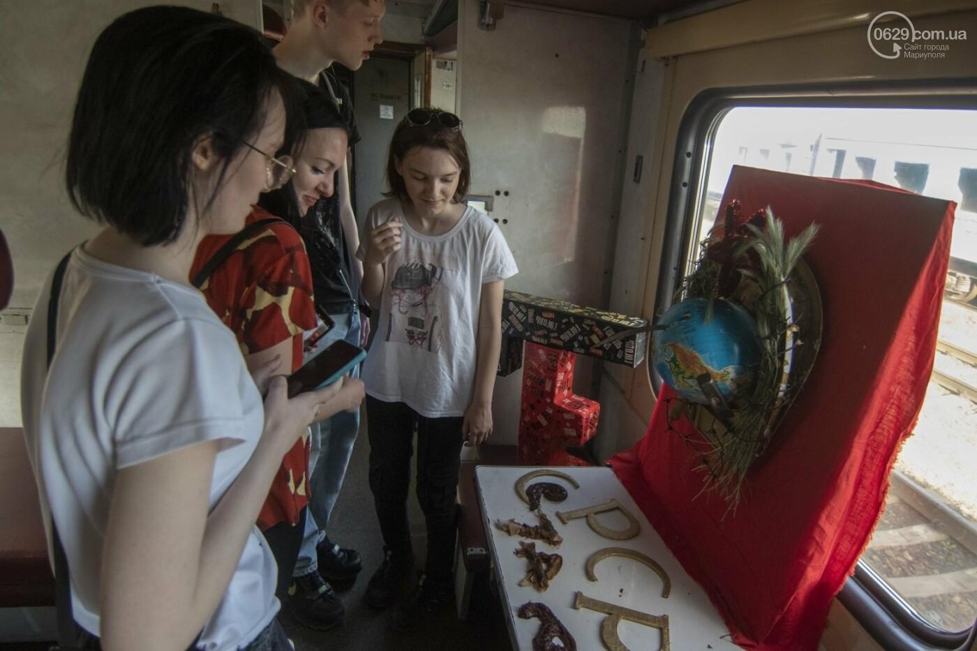 Во что превратили художники старый железнодорожный состав в Мариуполе. 33 фотографии! , фото-22