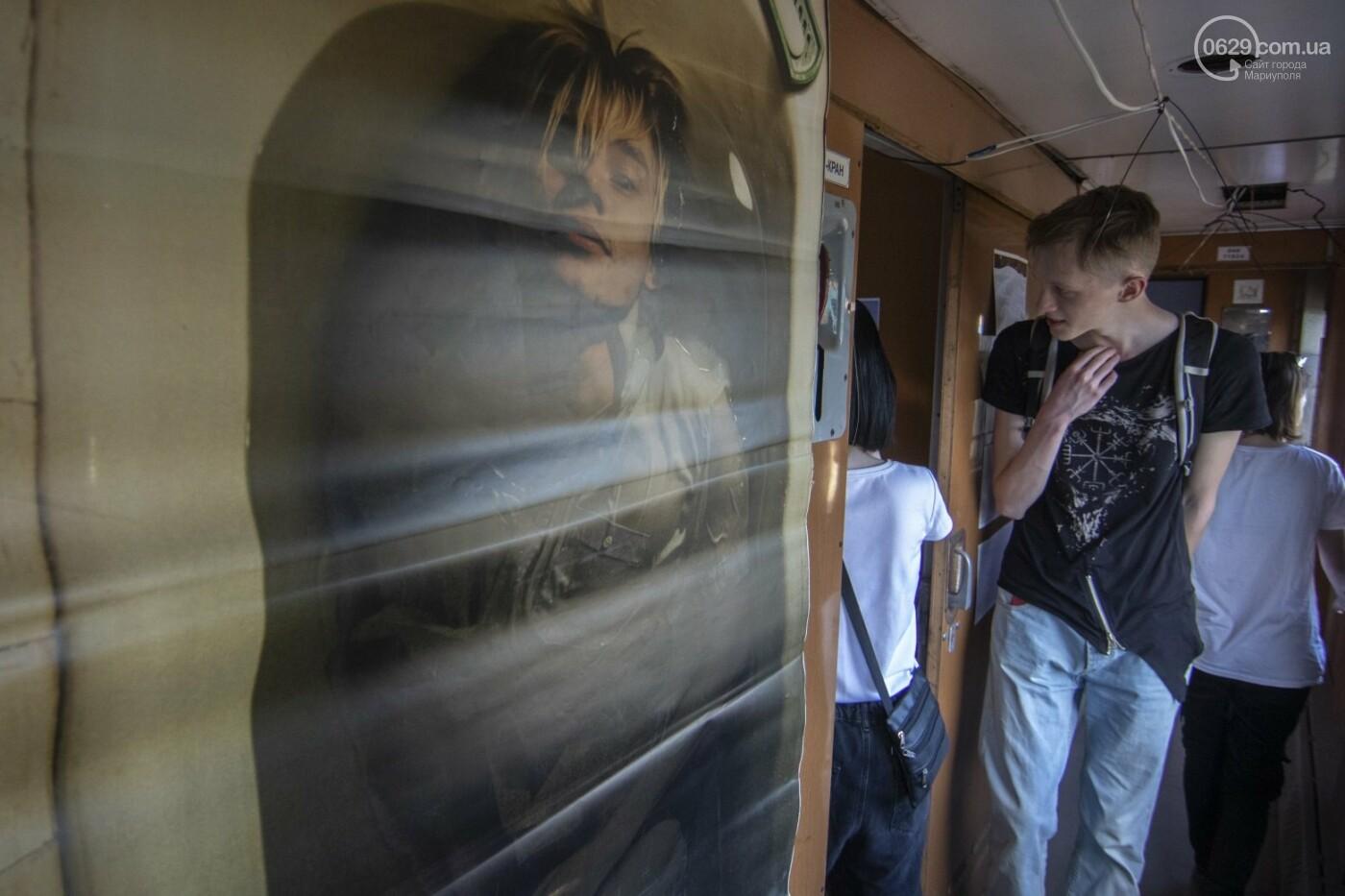 Во что превратили художники старый железнодорожный состав в Мариуполе. 33 фотографии! , фото-23