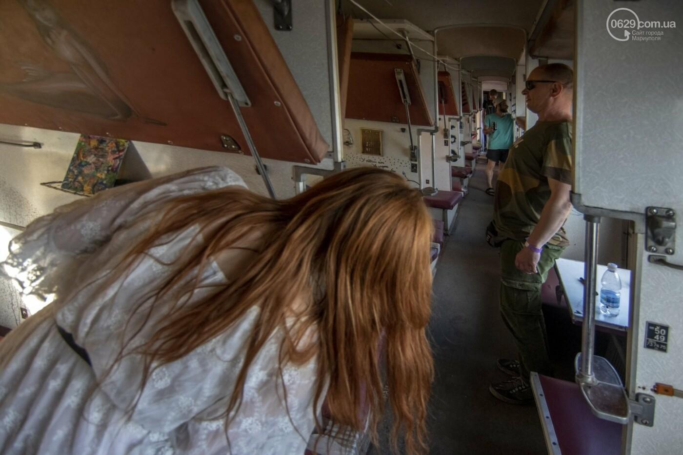Во что превратили художники старый железнодорожный состав в Мариуполе. 33 фотографии! , фото-24