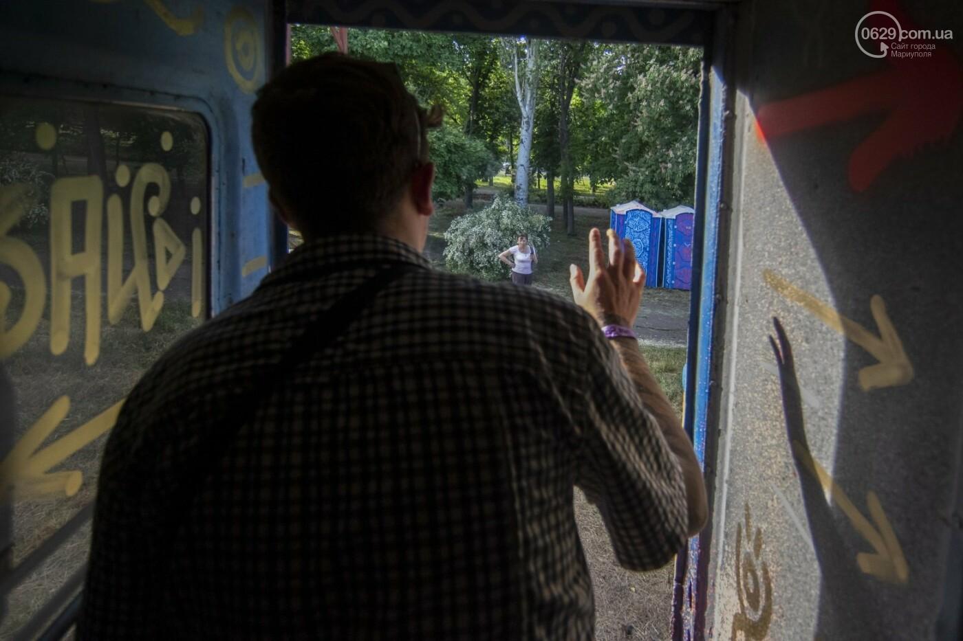 Во что превратили художники старый железнодорожный состав в Мариуполе. 33 фотографии! , фото-28