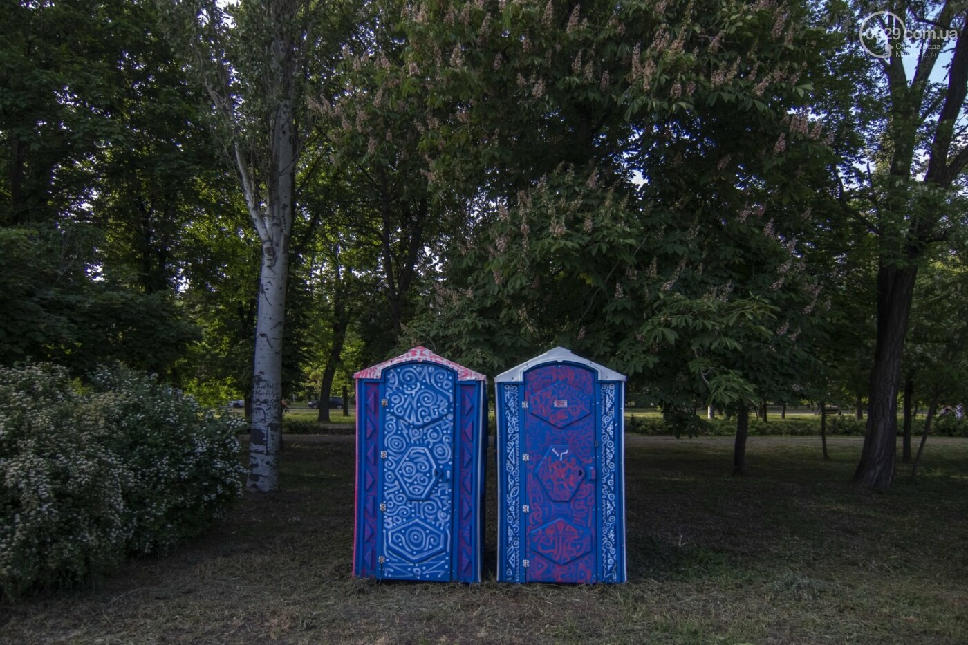 Во что превратили художники старый железнодорожный состав в Мариуполе. 33 фотографии! , фото-29