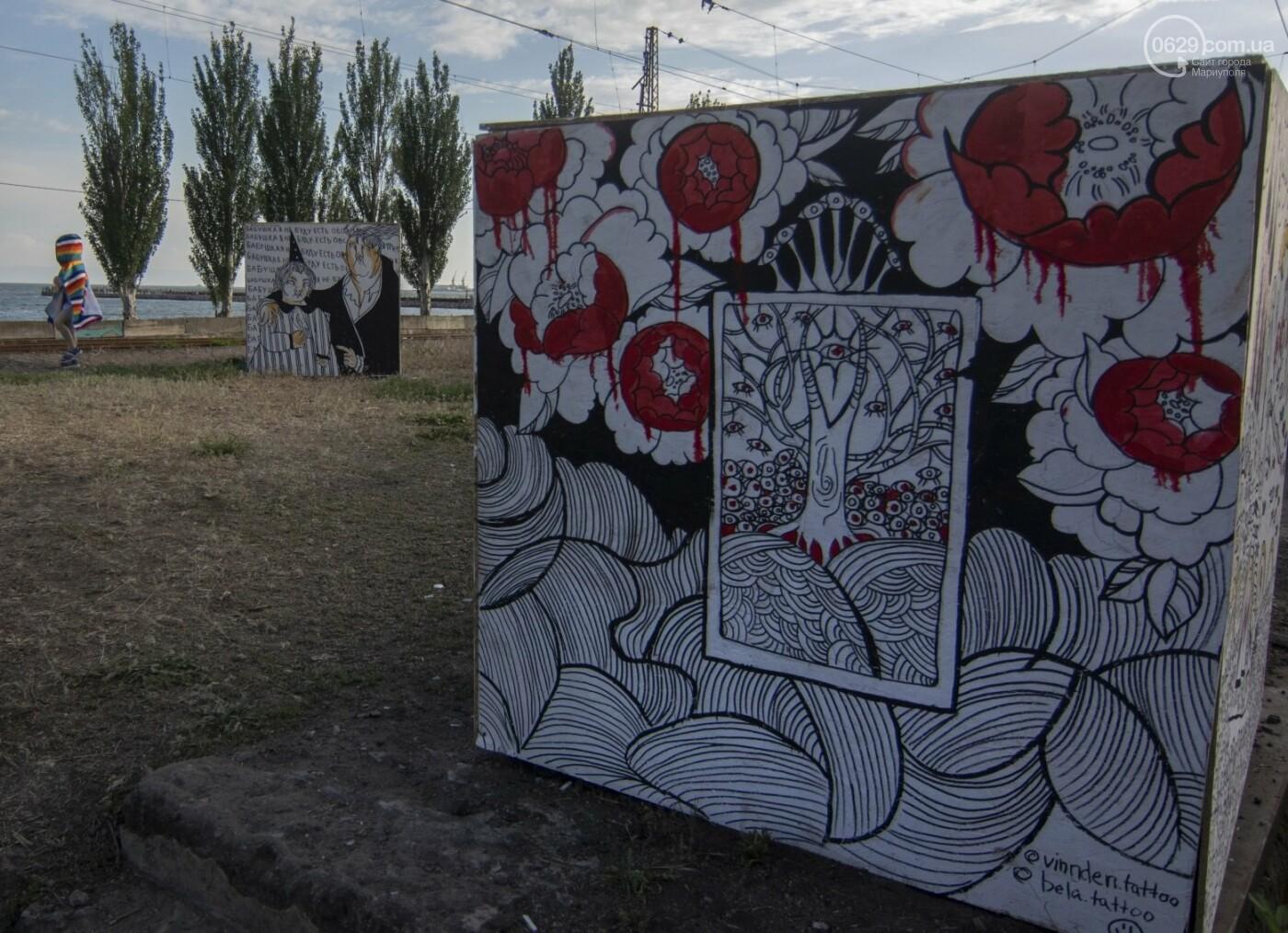 Во что превратили художники старый железнодорожный состав в Мариуполе. 33 фотографии! , фото-7