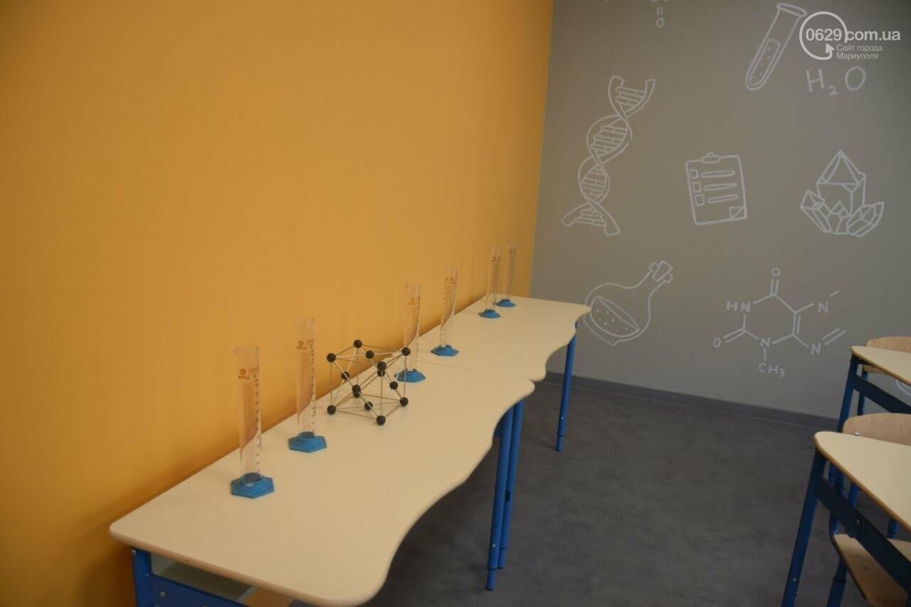 2 года в ремонте. В Мариуполе открыли суперсовременную школу, - ФОТОРЕПОРТАЖ, ВИДЕО, фото-43