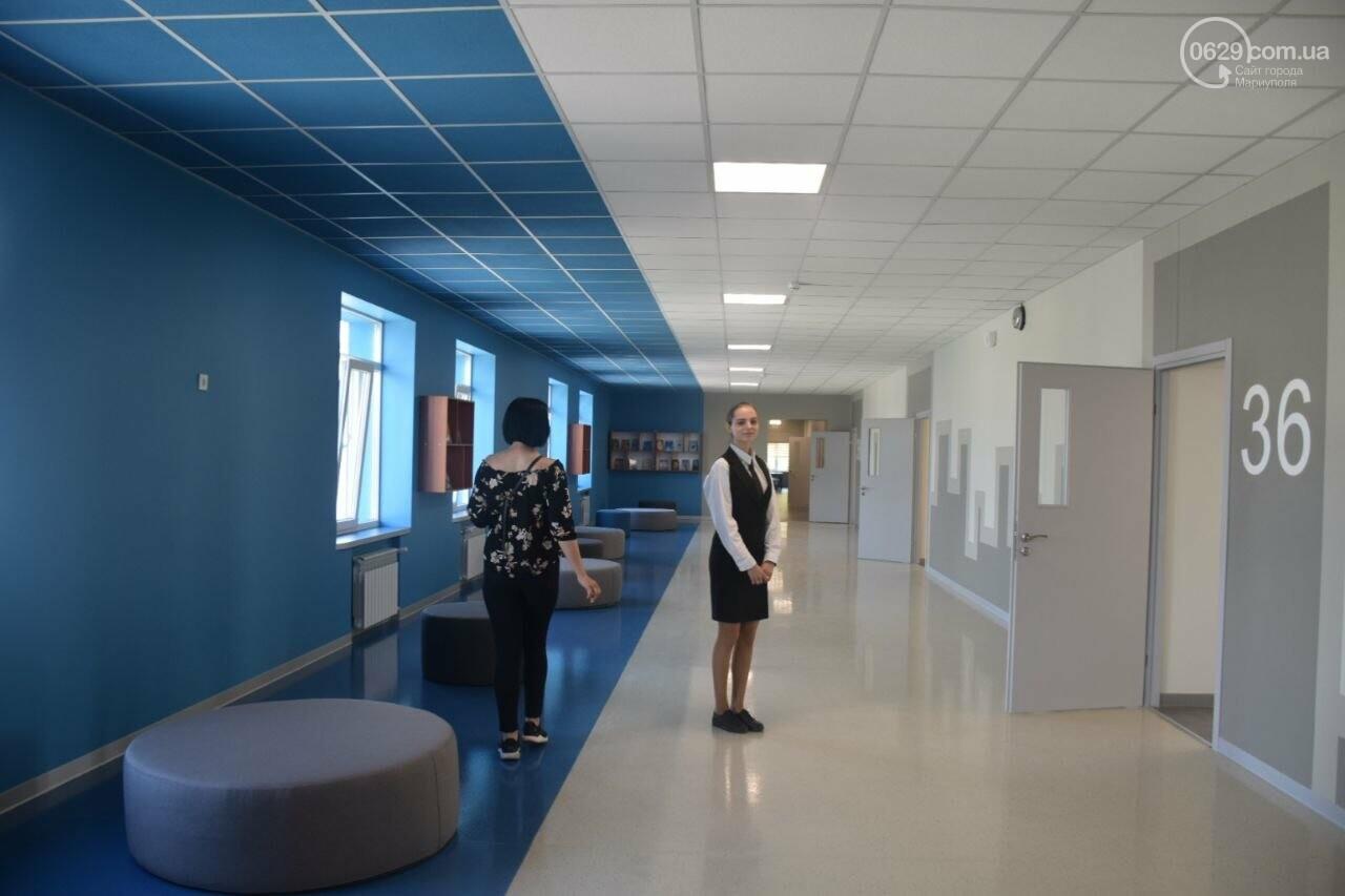 2 года в ремонте. В Мариуполе открыли суперсовременную школу, - ФОТОРЕПОРТАЖ, ВИДЕО, фото-37