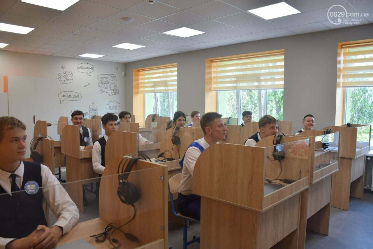 2 года в ремонте. В Мариуполе открыли суперсовременную школу, - ФОТОРЕПОРТАЖ, ВИДЕО, фото-47
