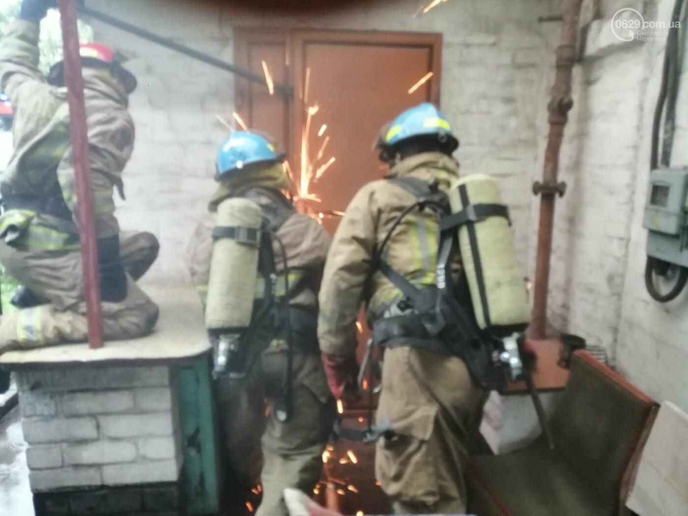 В Мариуполе при пожаре погиб пенсионер, - ФОТО, фото-1