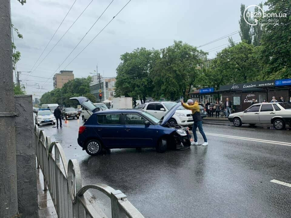 Снова потоп. В Мариуполе тонули машины и вышли из строя подстанции, - ФОТО, ВИДЕО, фото-3