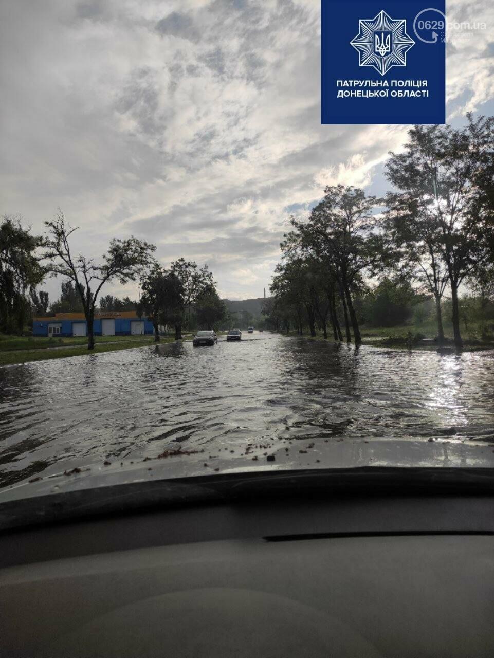 В Мариуполе залило центральные городские дороги, - ФОТО, фото-2