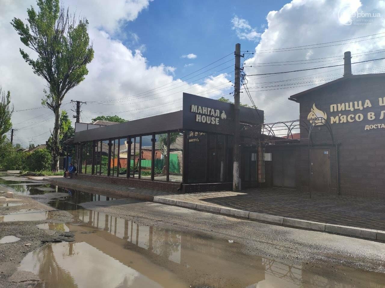 Пешеходов вытеснили: в Мариуполе кафе полностью захватило тротуар, - ФОТО, фото-7