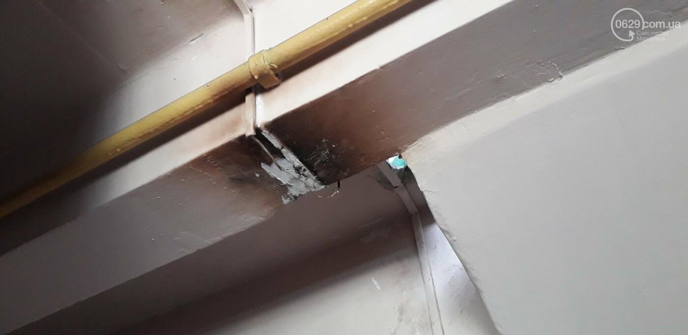 Протікаючий дах в одній з 9-поверхівок Маріуполя став каменем спотикання мешканців, - ФОТО, фото-3