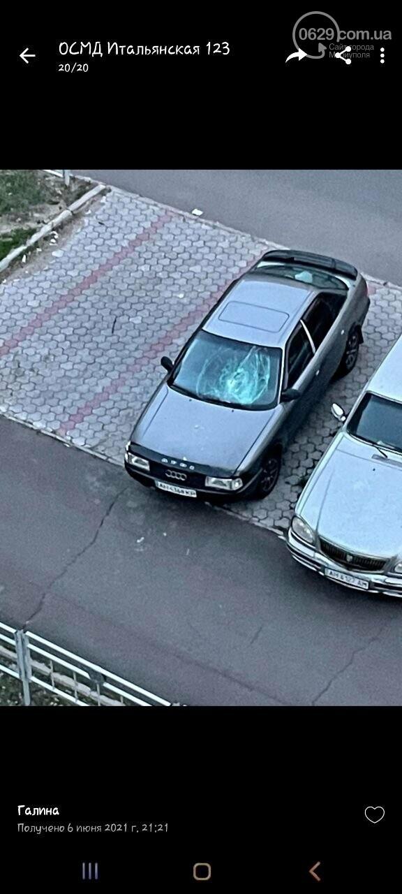 В Мариуполе дважды атаковали одно и то же авто, - ФОТО+ВИДЕО, фото-1
