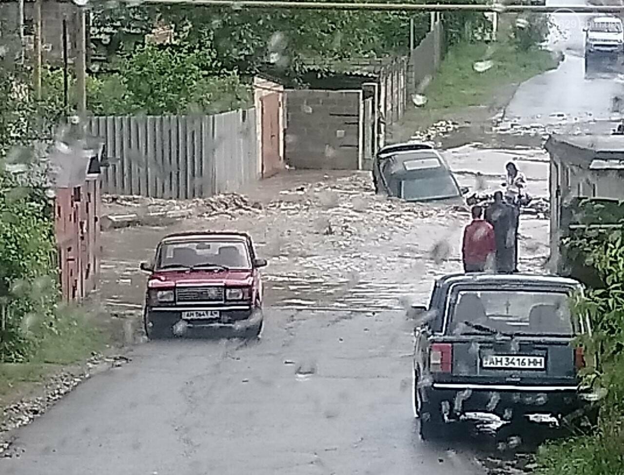 На Новоселівці машина провалилася під воду, - ФОТОФАКТ, фото-1