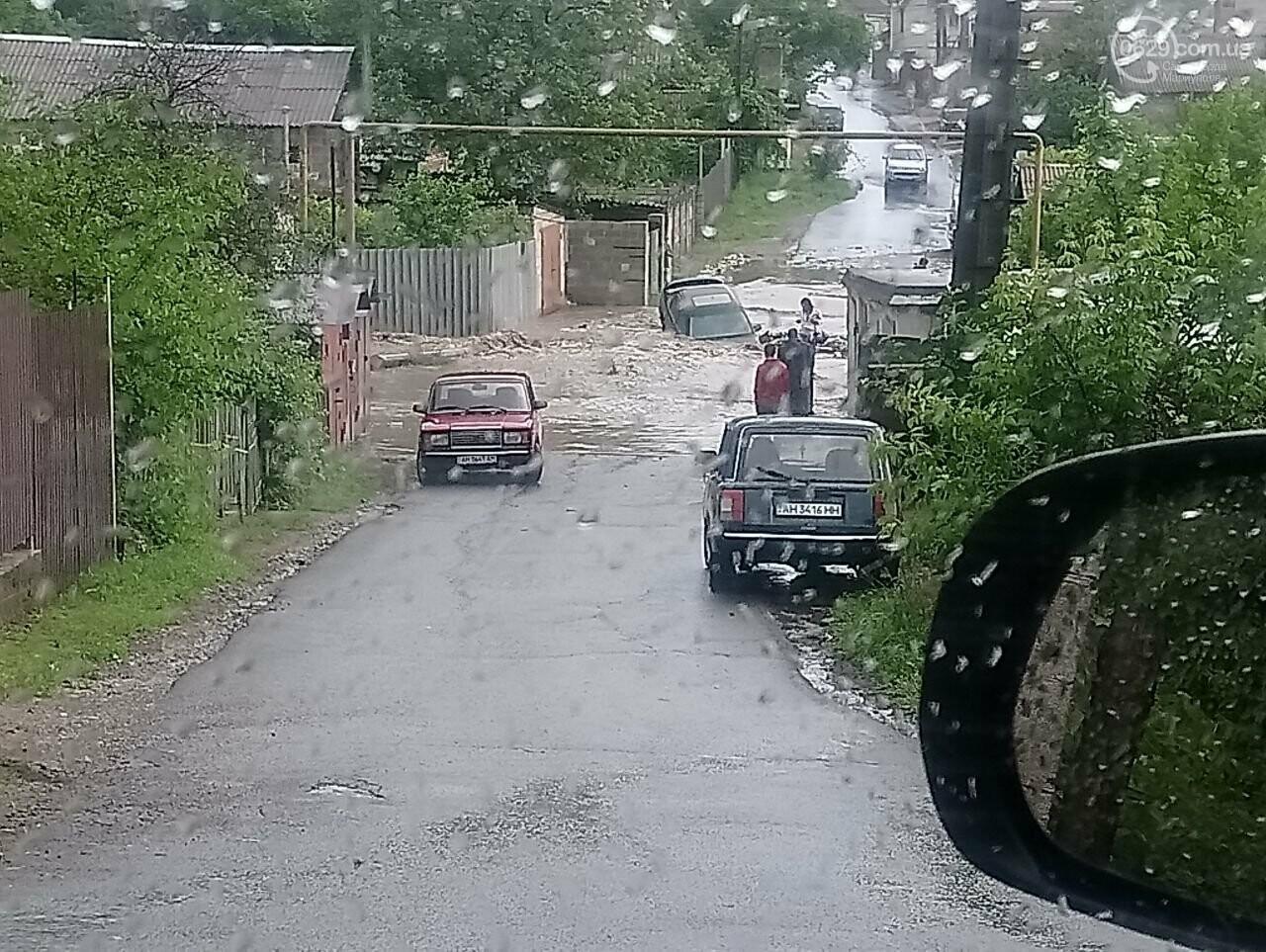 На Новоселівці машина провалилася під воду, - ФОТОФАКТ, фото-2