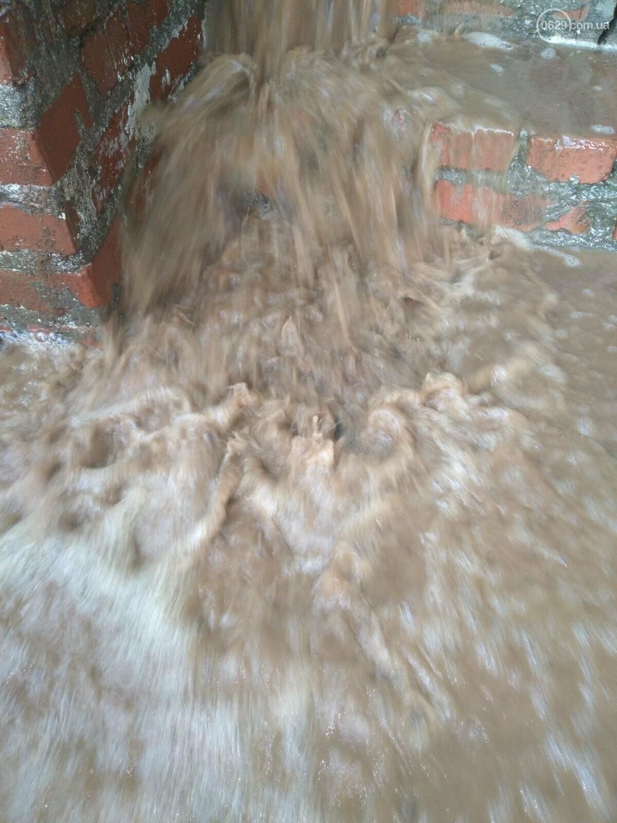Комунальне лихо. Десятки будинків у Маріуполі затопило водою, - ВІДЕО, фото-3