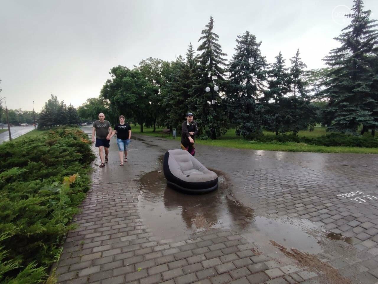 Потоп на улице Громовой. Водолазы опускаются на дно искусственного озера, - ФОТО, ВИДЕО, фото-6