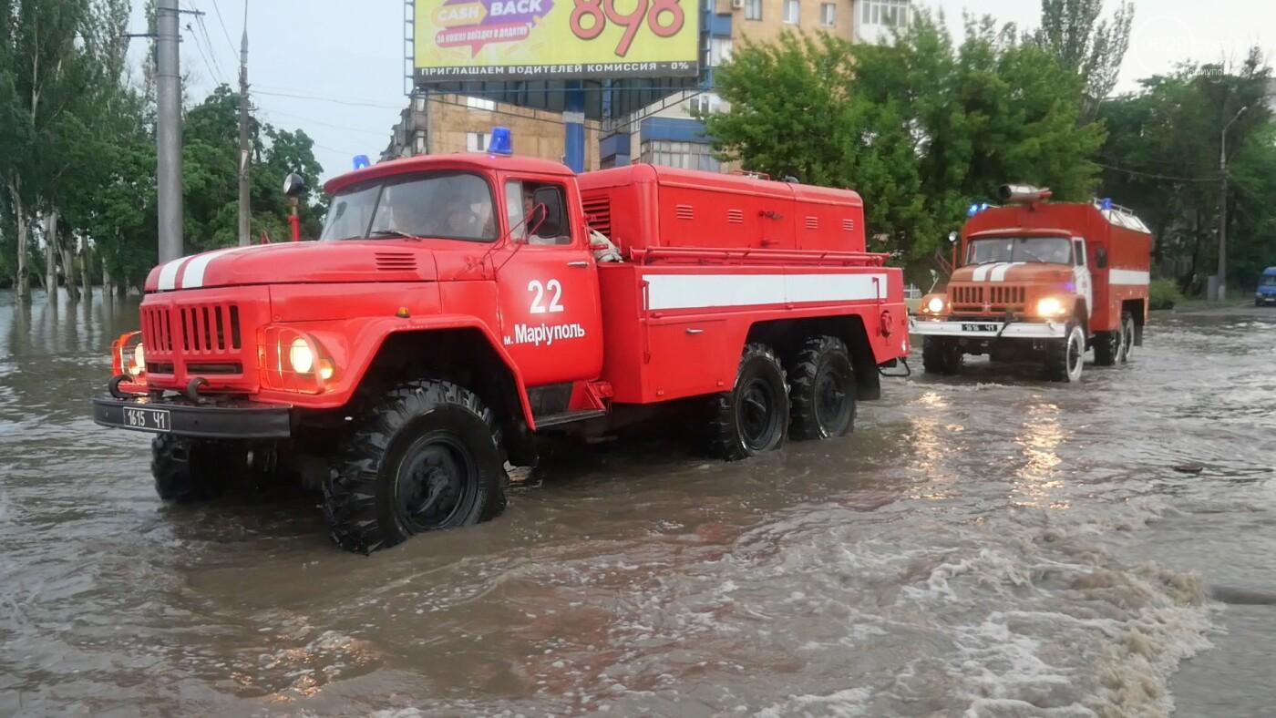 """""""Червоний"""" рівень небезпеки. Наслідки аномальної негоди в Маріуполі, - ЦИФРИ, фото-1"""