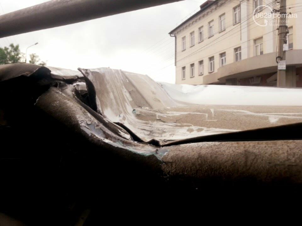 В старой части Мариуполя перевернулся микроавтобус, - ФОТО, фото-9