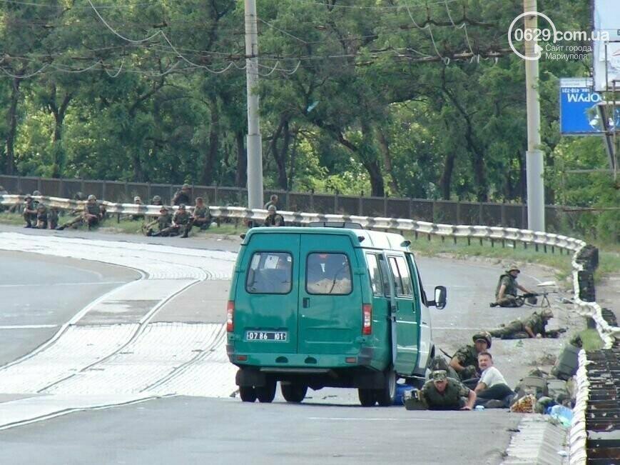 7 лет со дня трагедии: колонну пограничников расстреляли на пост-мосту в Мариуполе, фото-1