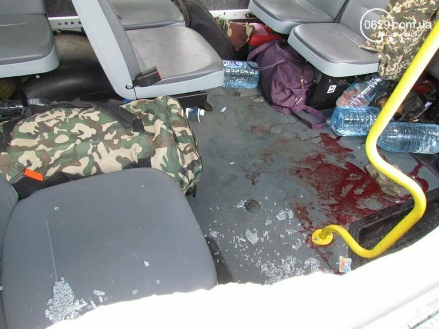 7 лет со дня трагедии: колонну пограничников расстреляли на пост-мосту в Мариуполе, фото-6