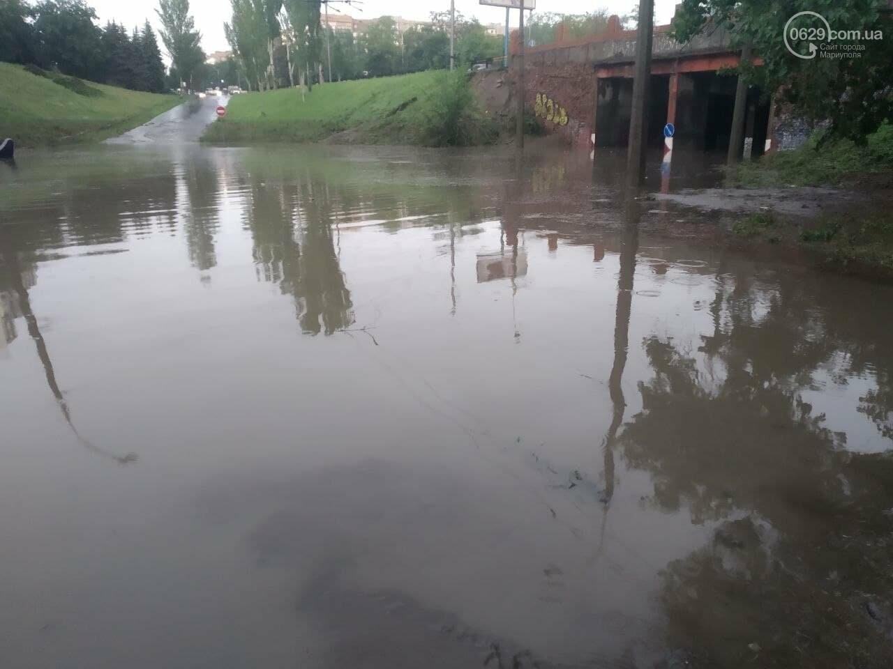 Погода или плохая работа? Кто ответит за потоп в Мариуполе, фото-1
