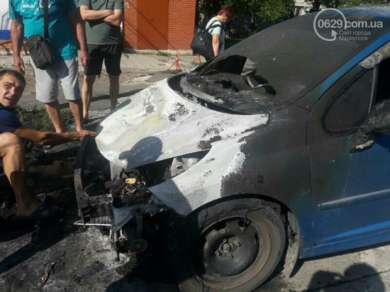 На Центральном рынке загорелась машина, - ФОТО, фото-3