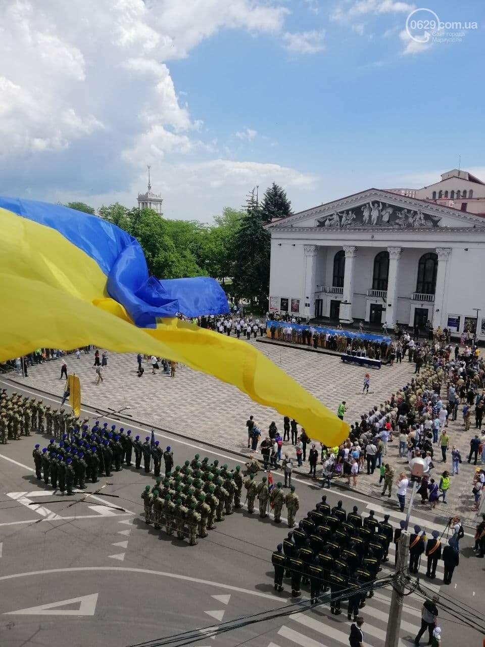 Без мэра. Как прошла в Мариуполе 7-я годовщина освобождения города от террористов и сепаратистов, - ФОТОРЕПОРТАЖ, фото-37