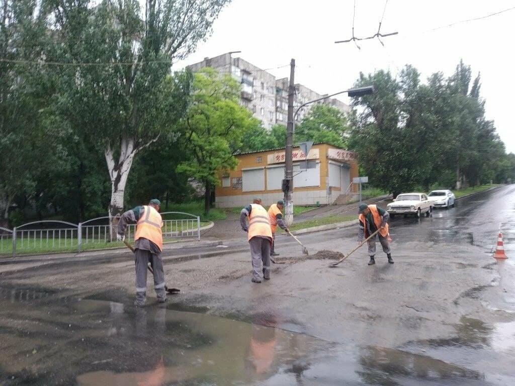 Вода сошла! Как утром после ливня выглядят очаги подтопления в Мариуполе, - ФОТО, фото-3