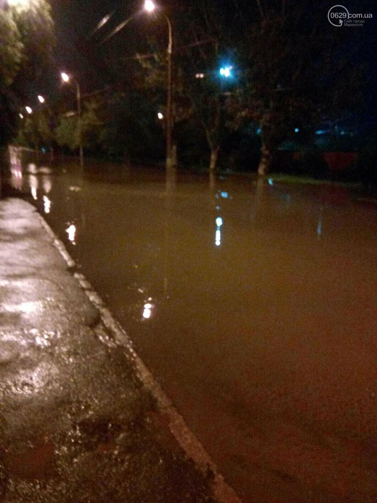 Вода сошла! Как утром после ливня выглядят очаги подтопления в Мариуполе, - ФОТО, фото-5
