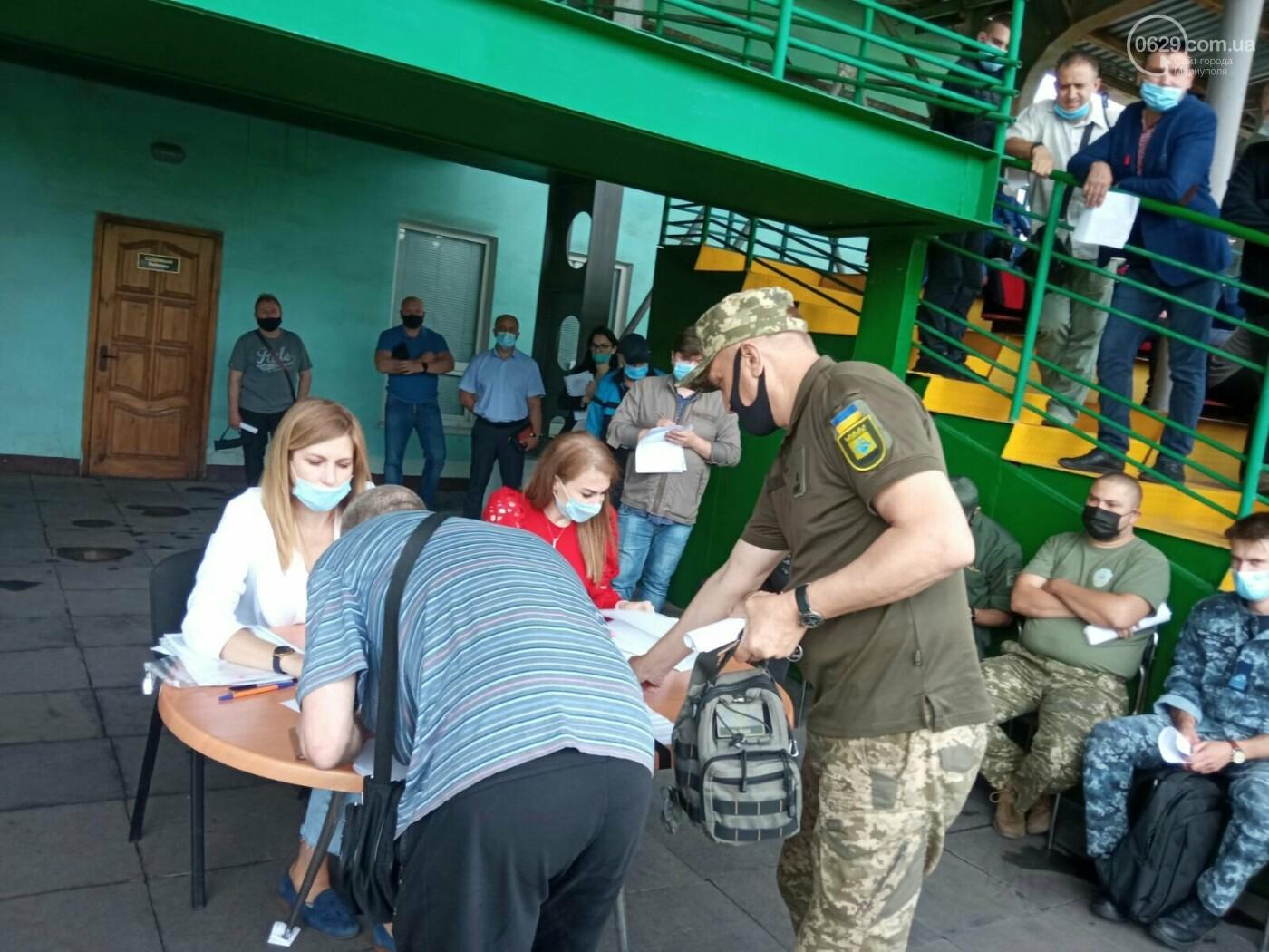 В Мариуполе участники АТО получили земельные участки, - ФОТОРЕПОРТАЖ , фото-3