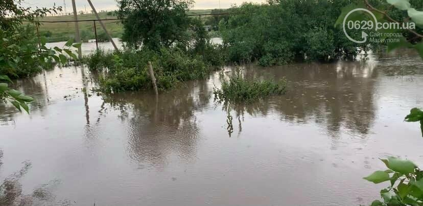 Под Мариуполем прорвало плотину.  Какой ущерб нанесла большая вода,- ВИДЕО, фото-6