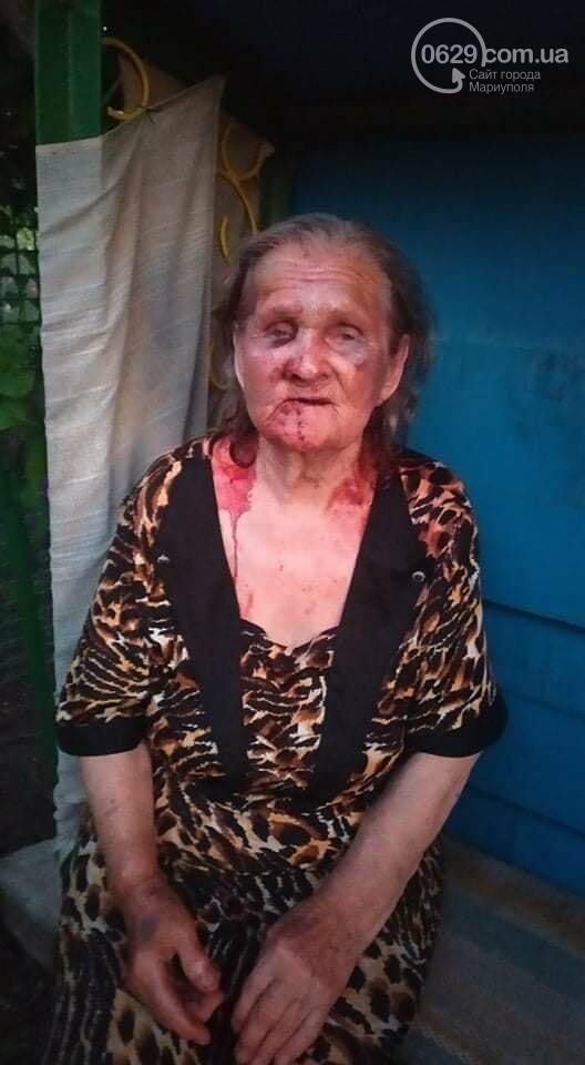 Под Мариуполем неизвестный напал на бабушку, - УТОЧНЕНИЕ, ФОТО, фото-1