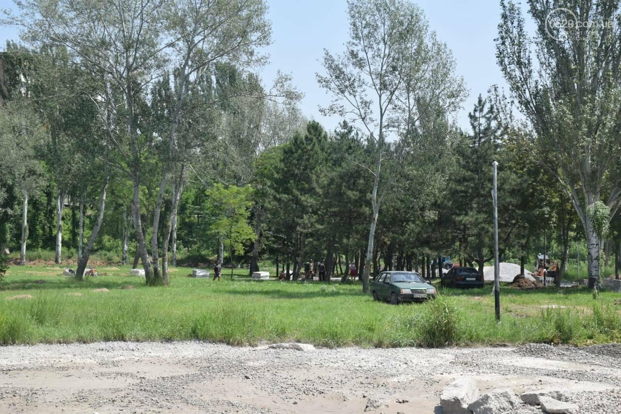 За два месяца до открытия! Как продвинулся ремонт парка им. Гурова, - ФОТОРЕПОРТАЖ, фото-23